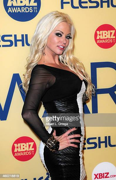 Adult film actress Alexis Ford arrives for the 2013 XBIZ Awards held at the Hyatt Regency Century Plaza on January 11 2013 in Century City California