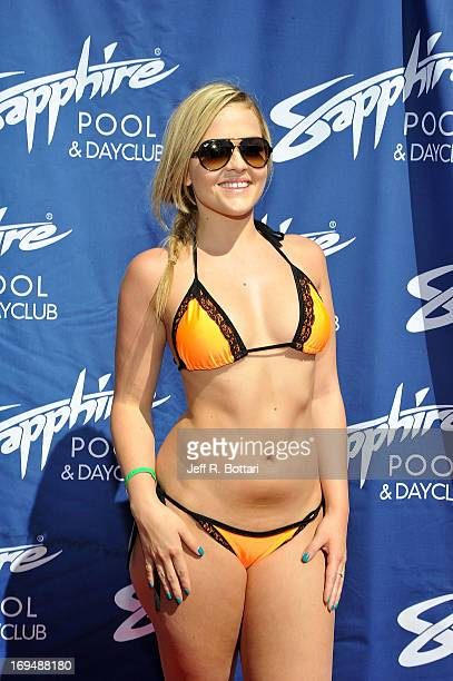 Adult film actress Alexis Texas appears at the Sapphire Pool Day Club's Memorial Day weekend celebration on May 25 2013 in Las Vegas Nevada
