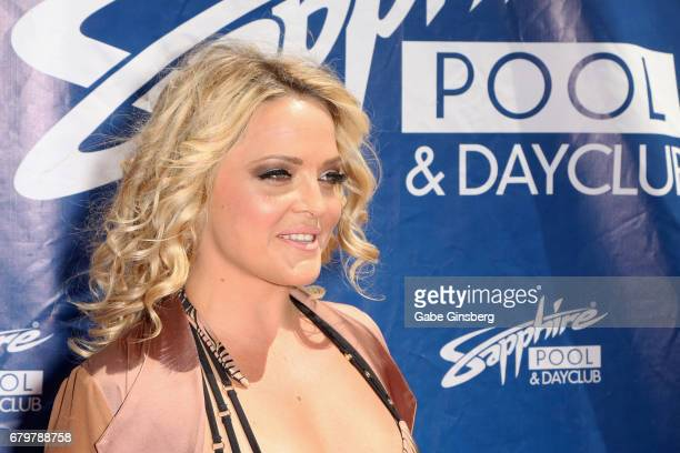 Adult film actress Alexis Texas attends a pool party hosted by model Blac Chyna at the Sapphire Pool Day Club on May 6 2017 in Las Vegas Nevada