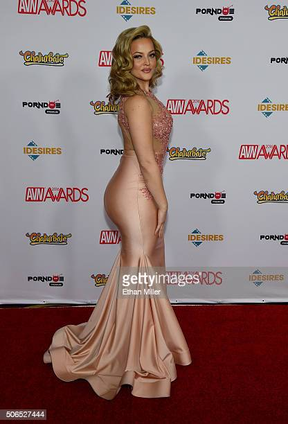 Adult film actress Alexis Texas attends the 2016 Adult Video News Awards at the Hard Rock Hotel & Casino on January 23, 2016 in Las Vegas, Nevada.
