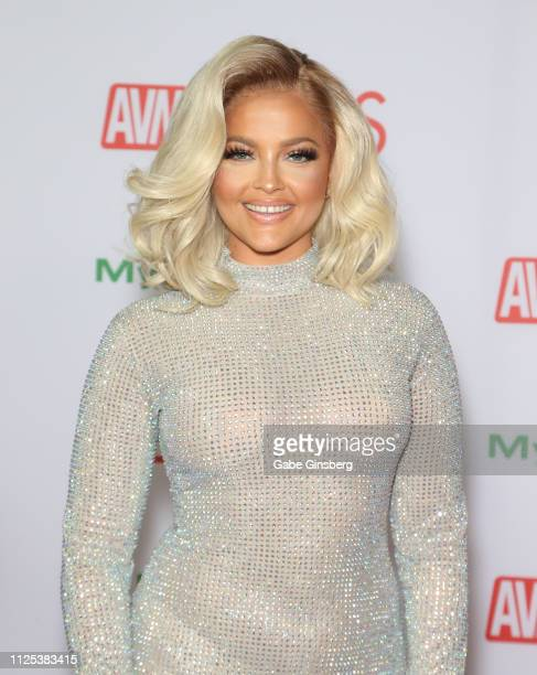 Adult film actress Alexis Texas attends the 2019 Adult Video News Awards at The Joint inside the Hard Rock Hotel Casino on January 26 2019 in Las...