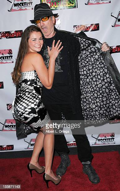Adult film actress Allie Haze and publisher Robert Steven Rhine participate in Shockfest Film Festival 50 held at Raleigh Studios on November 19 2011...