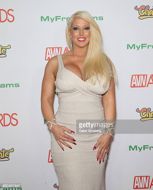 Adult film actress Alura Jenson attends the 2017 Adult Video News Awards at the Hard Rock Hotel Casino on January 21 2017 in Las Vegas Nevada