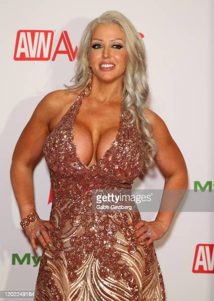 Adult film actress Alura Jenson attends the 2020 Adult Video News Awards at The Joint inside the Hard Rock Hotel Casino on January 25 2020 in Las...