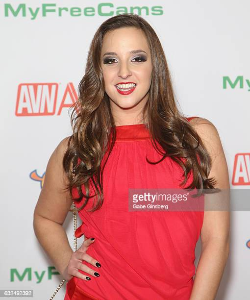 Adult film actress Amirah Adara attends the 2017 Adult Video News Awards at the Hard Rock Hotel Casino on January 21 2017 in Las Vegas Nevada
