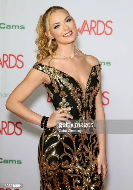 Adult film actress and cohost Bailey Rayne attends the 2019 Adult Video News Awards at The Joint inside the Hard Rock Hotel Casino on January 26 2019...