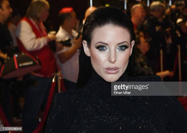Adult film actress Angela White attends the 2020 Adult Video News Awards at The Joint inside the Hard Rock Hotel Casino on January 25 2020 in Las...