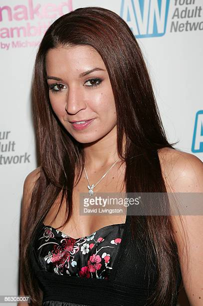 Adult film actress Ann Marie Rios attends the premiere of the documentary 'Naked Ambition An R Rated Look at an X Rated Industry' at Laemmle's Sunset...