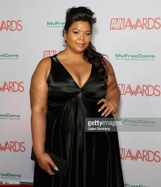 Adult film actress Anna Lee attends the 2018 Adult Video News Awards at the Hard Rock Hotel Casino on January 27 2018 in Las Vegas Nevada