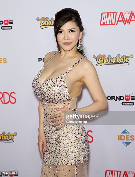 Adult film actress Anri Okita attends the 2016 Adult Video News Awards at the Hard Rock Hotel Casino on January 23 2016 in Las Vegas Nevada