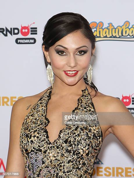 Adult film actress Ariana Marie attends the 2016 Adult Video News Awards at the Hard Rock Hotel Casino on January 23 2016 in Las Vegas Nevada