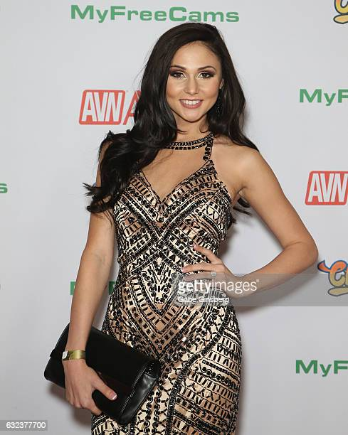 Adult film actress Ariana Marie attends the 2017 Adult Video News Awards at the Hard Rock Hotel Casino on January 21 2017 in Las Vegas Nevada