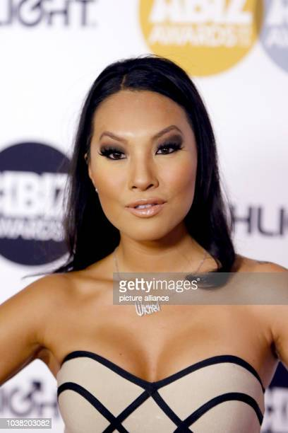 Adult film actress Asa Akira arrives at the 2015 Xbiz Awards in Los Angeles USA on 15 January 2015 Photo Hubert Boesl NO WIRE SERVICE | usage...