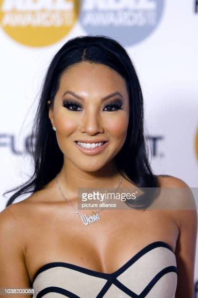 Adult film actress Asa Akira arrives at the 2015 Xbiz Awards in Los Angeles USA on 15 January 2015 Photo Hubert Boesl NOWIRESERVICE | usage...