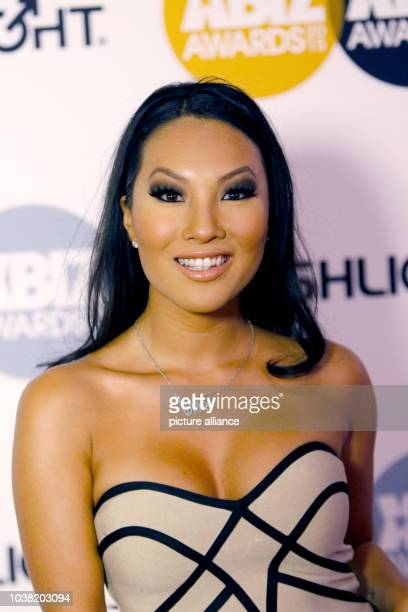 Adult film actress Asa Akira arrives at the 2015 Xbiz Awards in Los Angeles, USA, on 15 January 2015. Photo: Hubert Boesl - NO WIRE SERVICE - | usage...