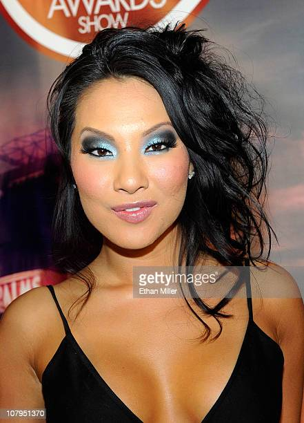 Adult film actress Asa Akira arrives at the 28th annual Adult Video News Awards Show at the Palms Casino Resort January 8, 2011 in Las Vegas, Nevada.