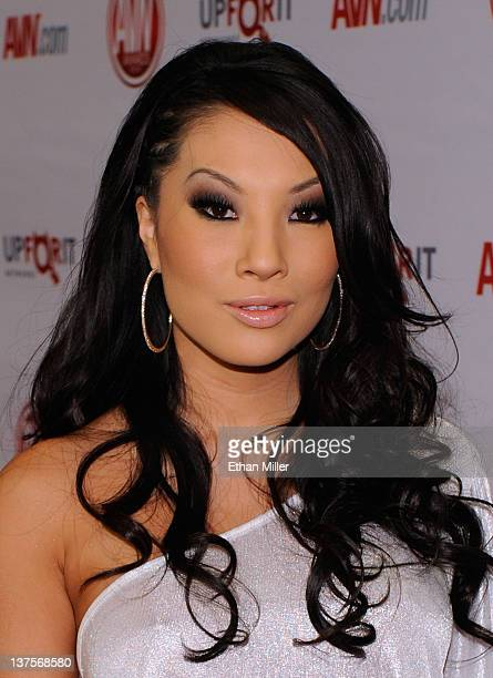 Adult film actress Asa Akira arrives at the 29th annual Adult Video News Awards Show at the Hard Rock Hotel & Casino January 21, 2012 in Las Vegas,...