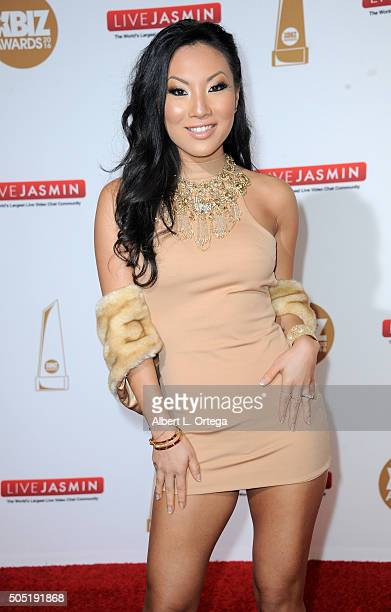 Adult film actress Asa Akira arrives for the 2016 XBIZ Awards held at JW Marriott Los Angeles at LA LIVE on January 15 2016 in Los Angeles California