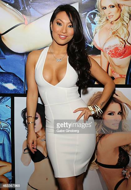 Adult film actress Asa Akira attends the 2014 AVN Adult Entertainment Expo at the Hard Rock Hotel & Casino on January 17, 2014 in Las Vegas, Nevada.