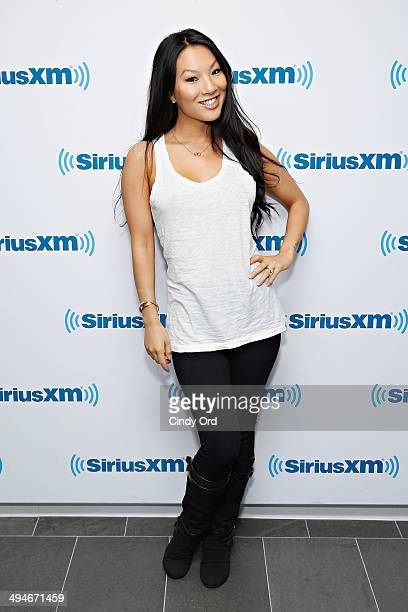 Adult film actress Asa Akira visits the SiriusXM Studios on May 30 2014 in New York City
