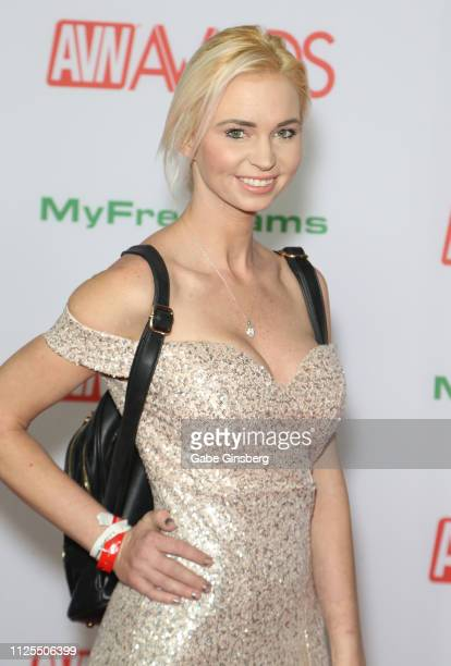 Adult film actress Astrid Star attends the 2019 Adult Video News Awards at The Joint inside the Hard Rock Hotel Casino on January 26 2019 in Las...
