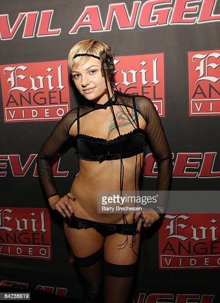 Adult film actress Belladonna attends the 2009 AVN Adult Entertainment Expo at the Sands Expo Convention Center on January 9 2009 in Las Vegas Nevada