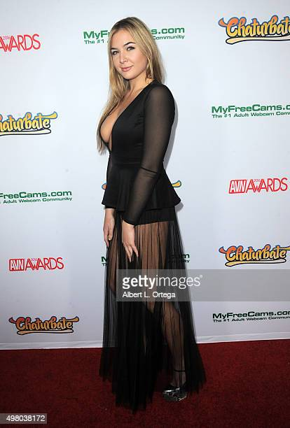Adult film actress Blair Williams at the 2016 AVN Awards Nomination Party held at Avalon on November 19 2015 in Hollywood California