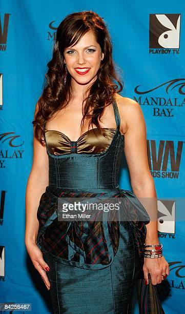 Adult film actress Bobbi Starr arrives at the 26th annual Adult Video News Awards Show at the Mandalay Bay Events Center January 10, 2009 in Las...