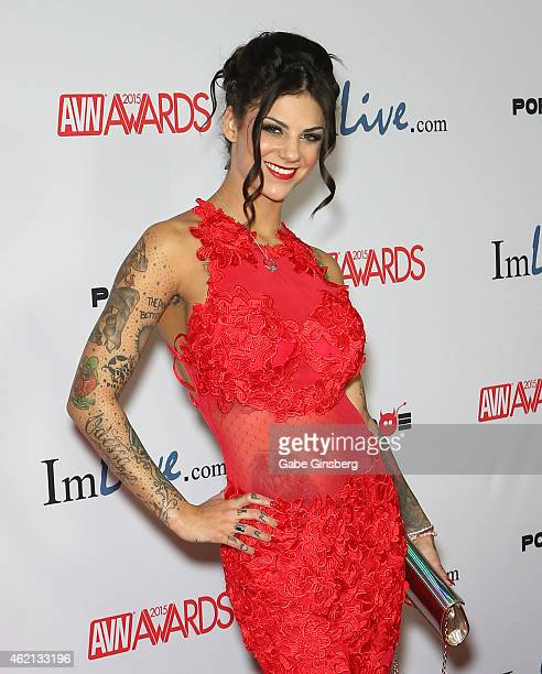 Adult film actress Bonnie Rotten arrives at the 2015 Adult Video News Awards at the Hard Rock Hotel Casino on January 24 2015 in Las Vegas Nevada