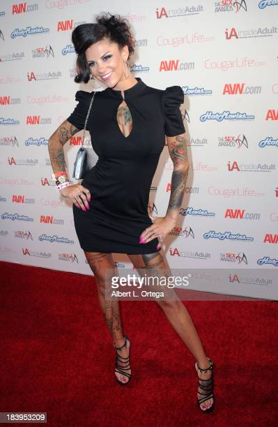 Adult film actress Bonnie Rotten arrives for The 1st Annual Sex Awards 2013 held at Avalon on October 9 2013 in Hollywood California
