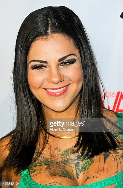 Adult film actress Bonnie Rotten at the 2016 AVN Awards Nomination Party held at Avalon on November 19 2015 in Hollywood California