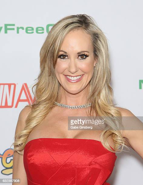 Adult film actress Brandi Love attends the 2017 Adult Video News Awards at the Hard Rock Hotel Casino on January 21 2017 in Las Vegas Nevada