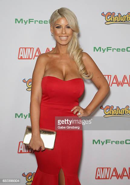 Adult film actress Bridgette B attends the 2017 Adult Video News Awards at the Hard Rock Hotel & Casino on January 21, 2017 in Las Vegas, Nevada.