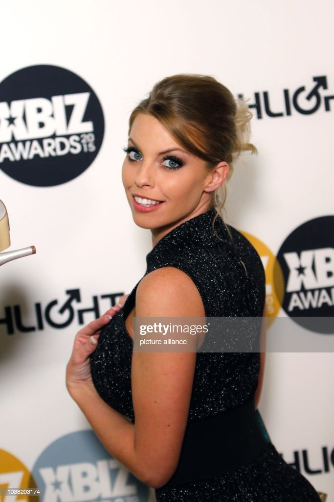 2015 Xbiz Awards Adult Film Actress Britney Amber