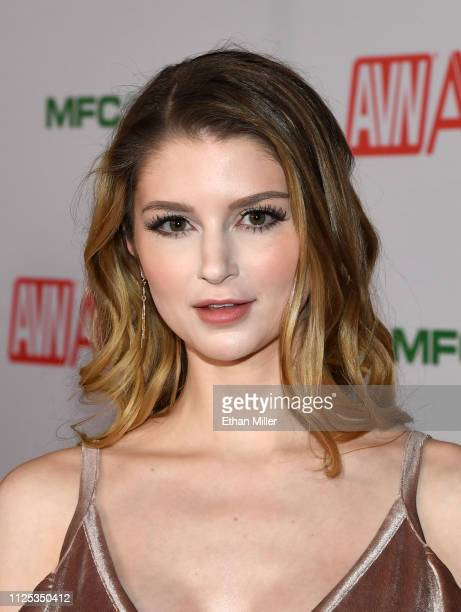 Adult film actress Bunny Colby attends the 2019 Adult Video News Awards at The Joint inside the Hard Rock Hotel Casino on January 26 2019 in Las...
