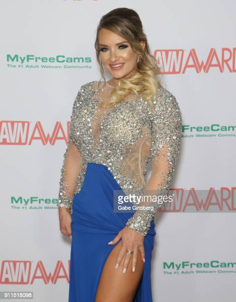 Adult film actress Cali Carter attends the 2018 Adult Video News Awards at the Hard Rock Hotel Casino on January 27 2018 in Las Vegas Nevada