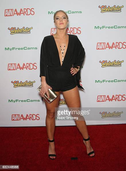 Adult Film Actress Candice Dare Attends The 2017 Adult -9447