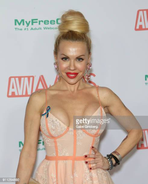 Adult film actress Candy Bane attends the 2018 Adult Video News Awards at the Hard Rock Hotel Casino on January 27 2018 in Las Vegas Nevada