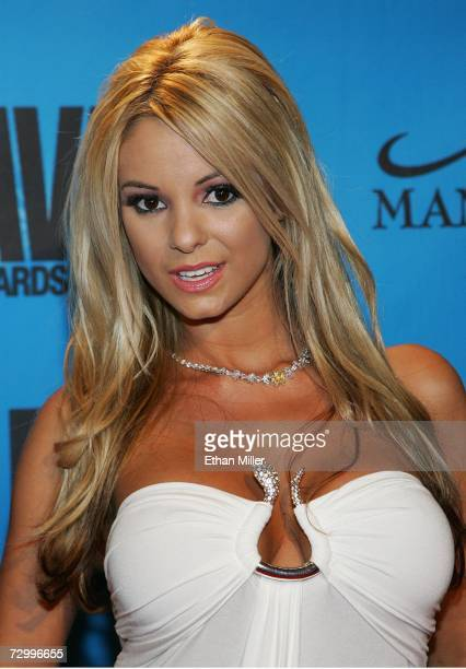 Adult film actress Carmen Luvana arrives at the 24th annual Adult Video News Awards Show at the Mandalay Bay Events Center January 13, 2007 in Las...