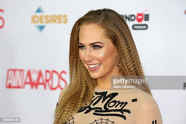 Adult film actress Carter Cruise attends the 2016 Adult Video News Awards at the Hard Rock Hotel Casino on January 23 2016 in Las Vegas Nevada