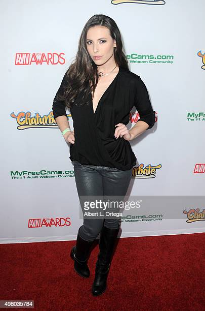 Adult Film Actress Casey Calvert At The 2016 Avn Awards Nomination Party Held At Avalon On