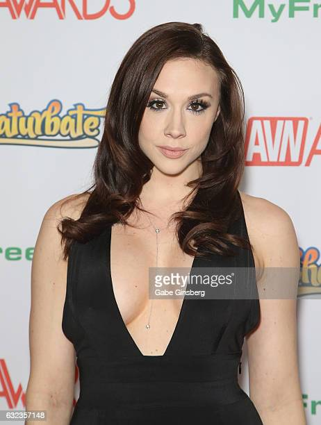 Adult film actress Chanel Preston attends the 2017 Adult Video News Awards at the Hard Rock Hotel Casino on January 21 2017 in Las Vegas Nevada