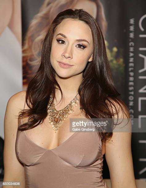 Adult Film Actress Chanel Preston Attends The 2017 Avn Adult Entertainment Expo At The Hard Rock