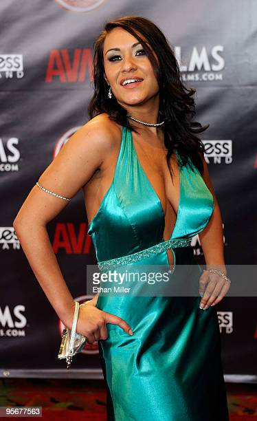 Adult Film Actress Charley Chase Arrives At The 27th Annual Adult Video News Awards Show At