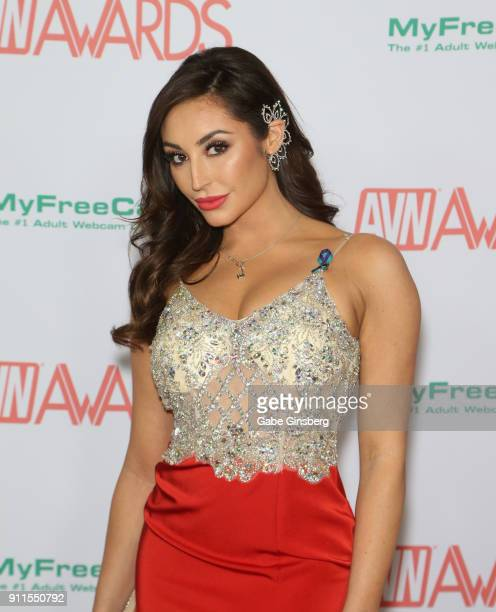 Adult film actress Christiana Cinn attends the 2018 Adult Video News Awards at the Hard Rock Hotel Casino on January 27 2018 in Las Vegas Nevada