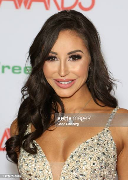 Adult film actress Christiana Cinn attends the 2019 Adult Video News Awards at The Joint inside the Hard Rock Hotel Casino on January 26 2019 in Las...