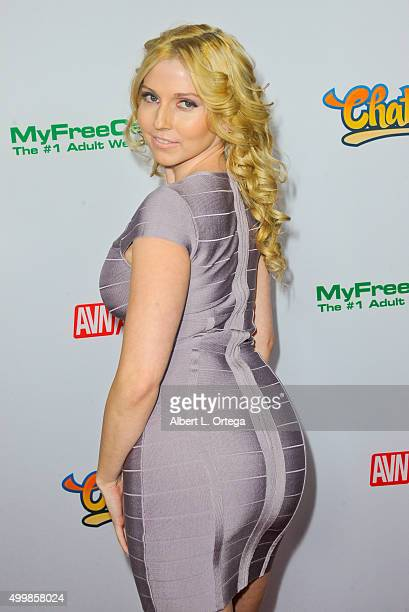 Adult film actress Christie Stevens at the 2016 AVN Awards Nomination Party held at Avalon on November 19 2015 in Hollywood California