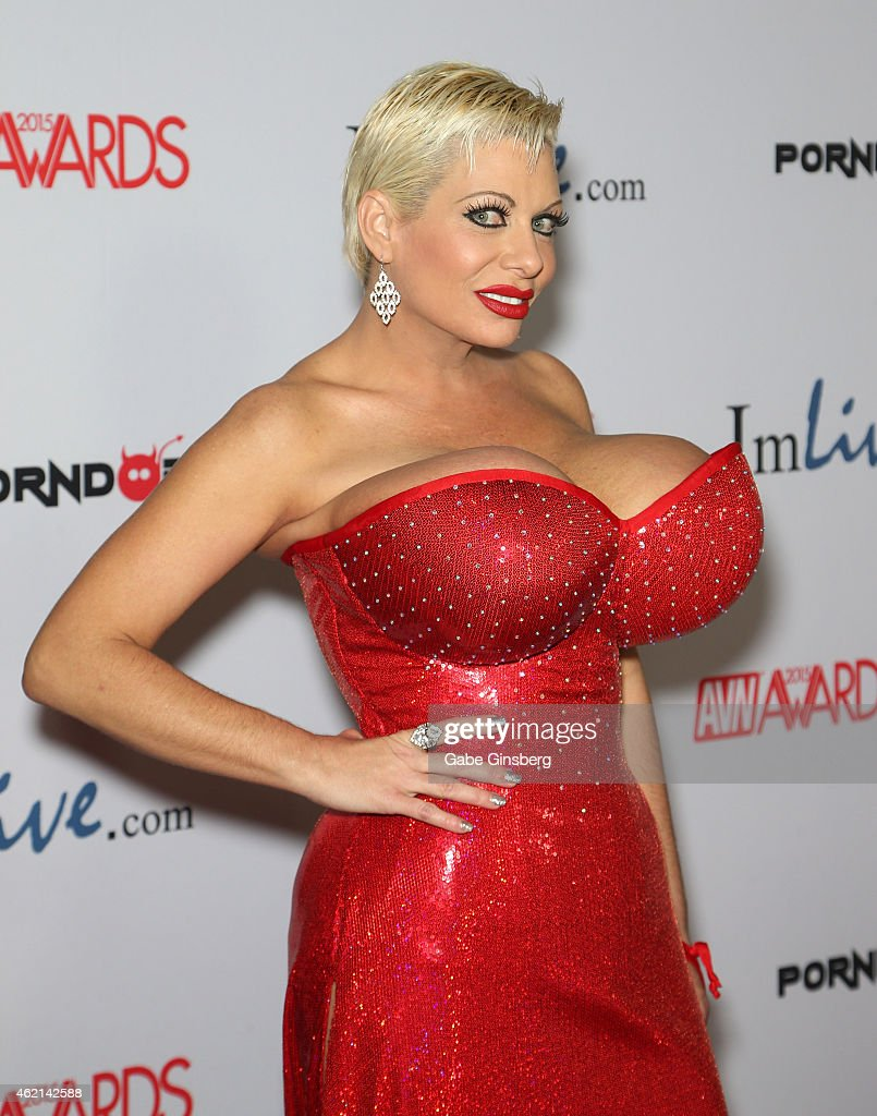 Adult film actress Claudia Marie arrives at the 2015 Adult Video News Awards at the Hard Rock Hotel & Casino on January 24, 2015 in Las Vegas, Nevada.