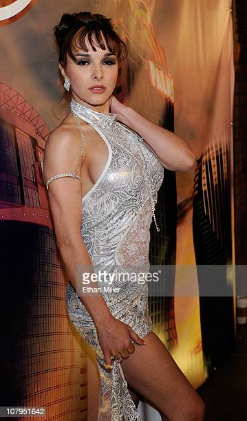 Adult film actress Cytherea arrives at the 28th annual Adult Video News Awards Show at the Palms Casino Resort January 8 2011 in Las Vegas Nevada