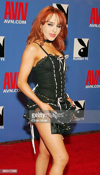 Adult film actress Cytherea arrives at the Adult Video News Awards Show at the Venetian Resort Hotel and Casino January 7 2006 in Las Vegas Nevada